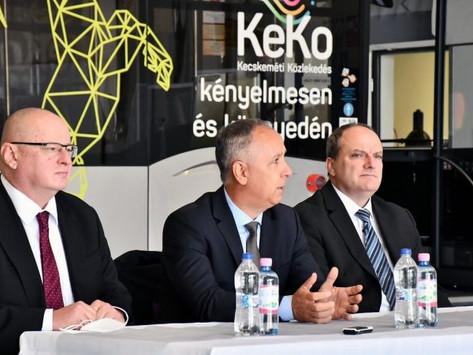 Kibővült buszparkoló és új személygépkocsi parkoló a KeKo és az Inter Tan-Ker Zrt. telephelyén