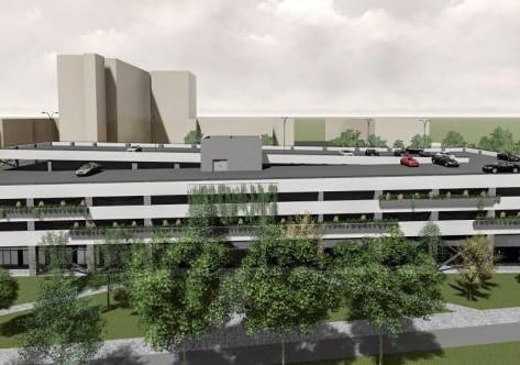 Kezdődik a kórházi parkolóház építése