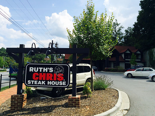Ruth's Chris Steakhouse in Asheville, NC.