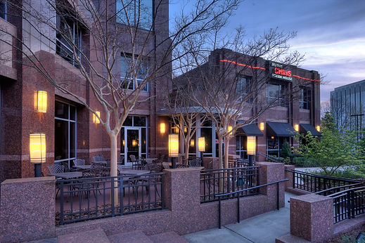 The front of our Ruth's Chris Steakhouse location in Southpark Charlotte, NC