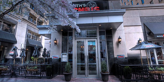 Ruth's Chris Steakhouse in Uptown Charlotte - Front Entrance