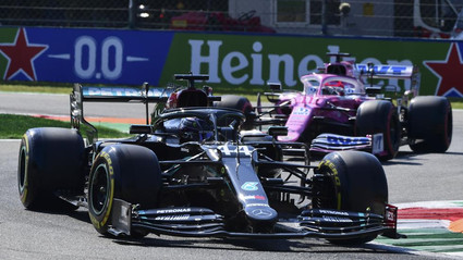 Mercedes Benz pierde el GP de Italia