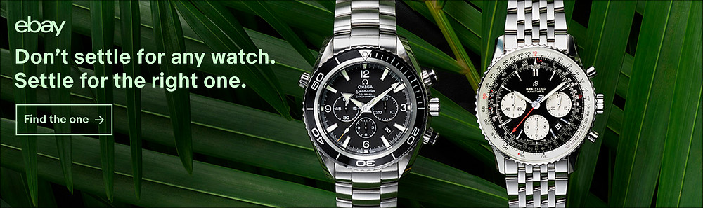 eBay's new authenticity guarantee service on luxury watches. Don't settle for any watch. Settle for the right one.