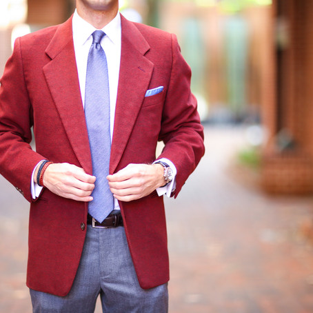 Tailoring a Vintage Blazer: Lessons Learned