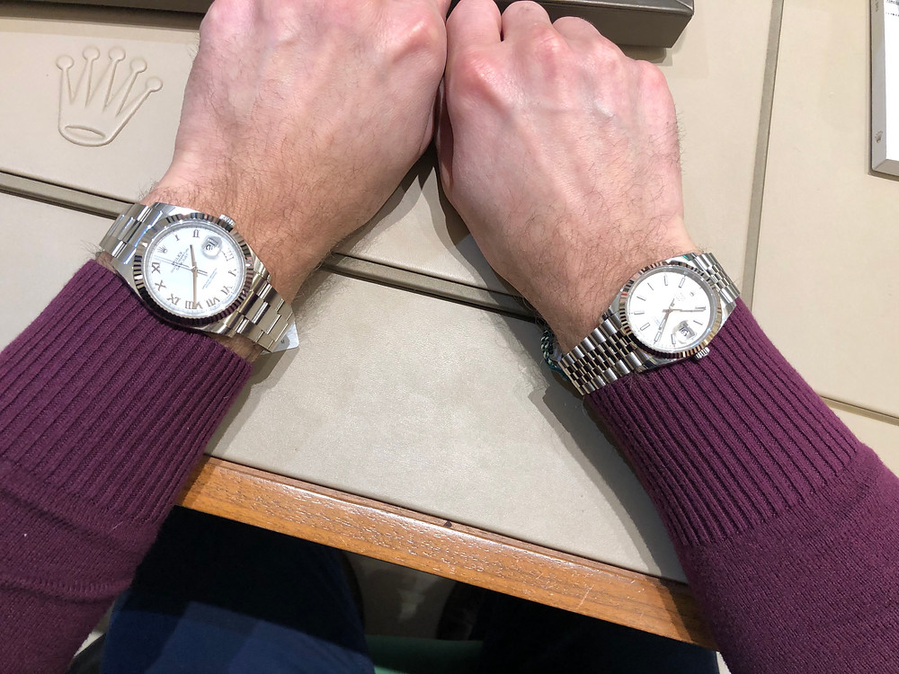 Rolex 41mm vs 36mm decision