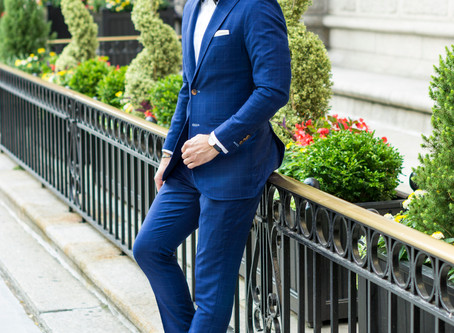 Black Tie Preferred = Blue Suit