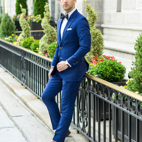 Black Tie Preferred = Blue Suit