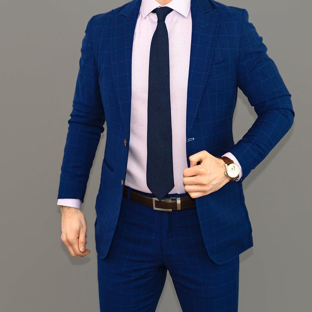 Dapper Professional wearing an Anson Belt