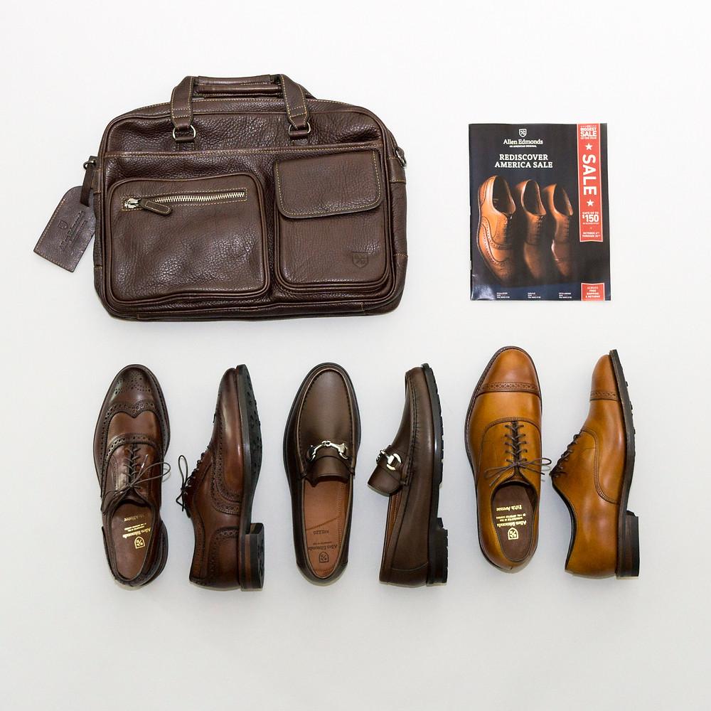 Allen Edmonds Resdiscover American Sale