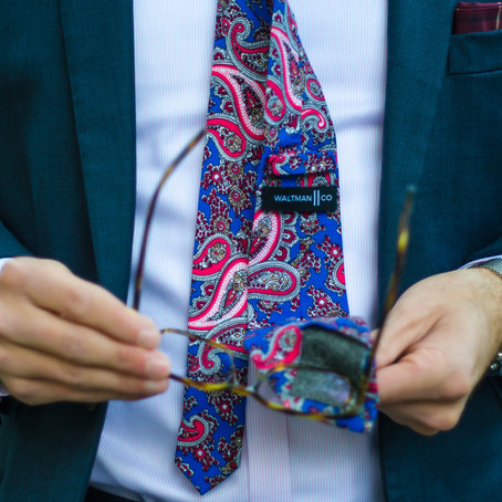 A Super Cool Tie - Written By: @DapperProfessional