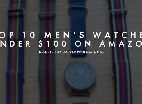Top 10 Men's Watches Under $100 on Amazon