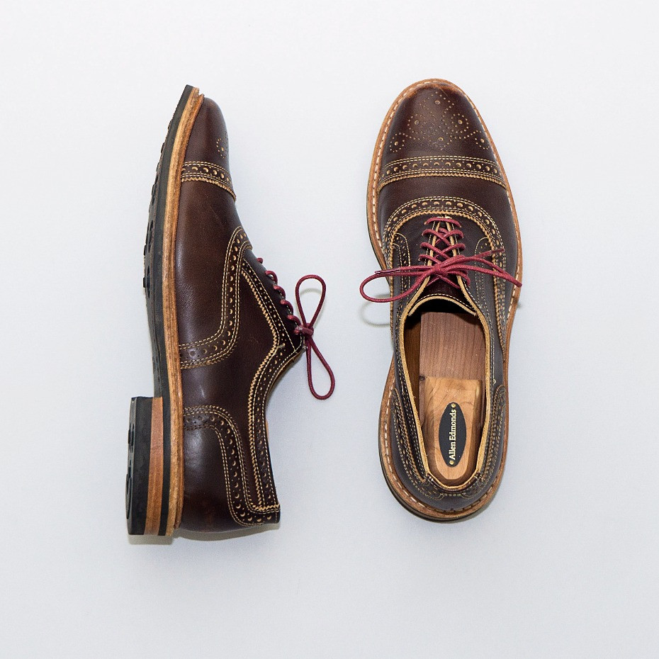 Allen Edmonds Strandmok shoes are one of the best options for fall and winter.