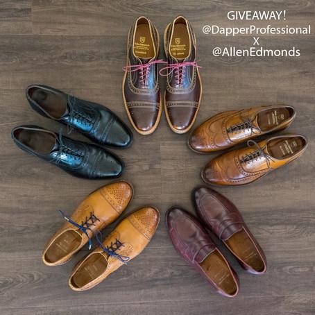 Allen Edmonds GIVEAWAY!!!