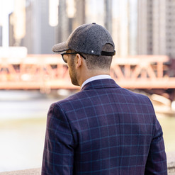 Vandre Premium Hats - Luxury Gray Flanne