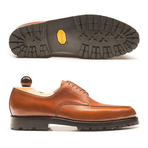 Rubber sole dress shoe I don't recommend as a dress shoe