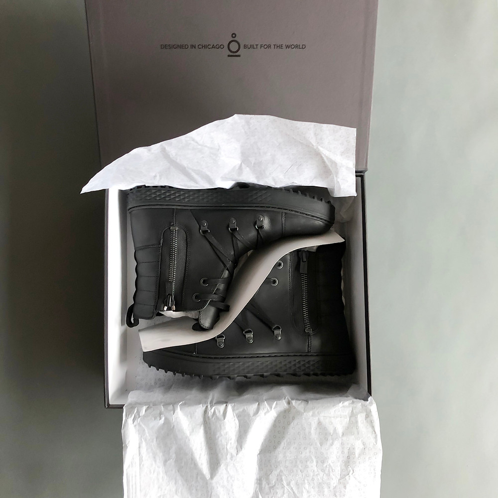 Coddi Boot unboxing with the boots still in the box