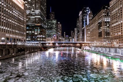 Chicago Ice River