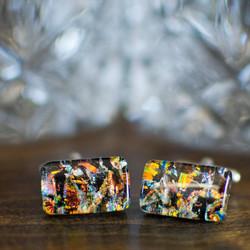 Glass Cufflinks