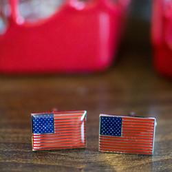 Vintage American Flag Cufflinks