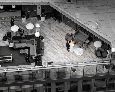 Wedding Shot from Above