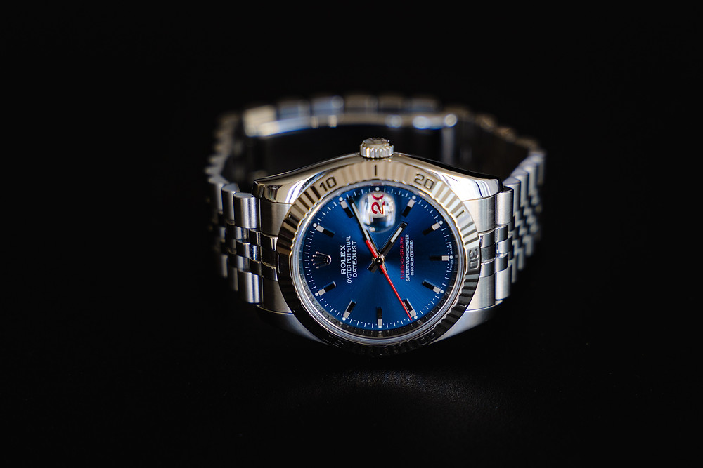 Close up shot of a Rolex 116264 from DeMesy