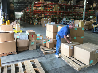 Hillier Ignite on the way to supply Hurricane Harvey relief efforts