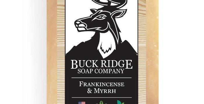 Men's Frankincense and Myrrh Handmade Soap