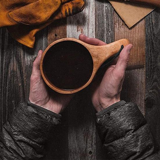 Nordic Kuksa  handmade wood mug