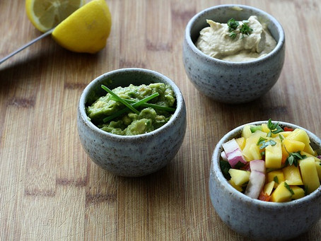 Sweet and Spicy Mango Guacamole