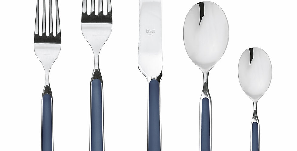 Cutlery Set 5 pc in Cobalt Blue