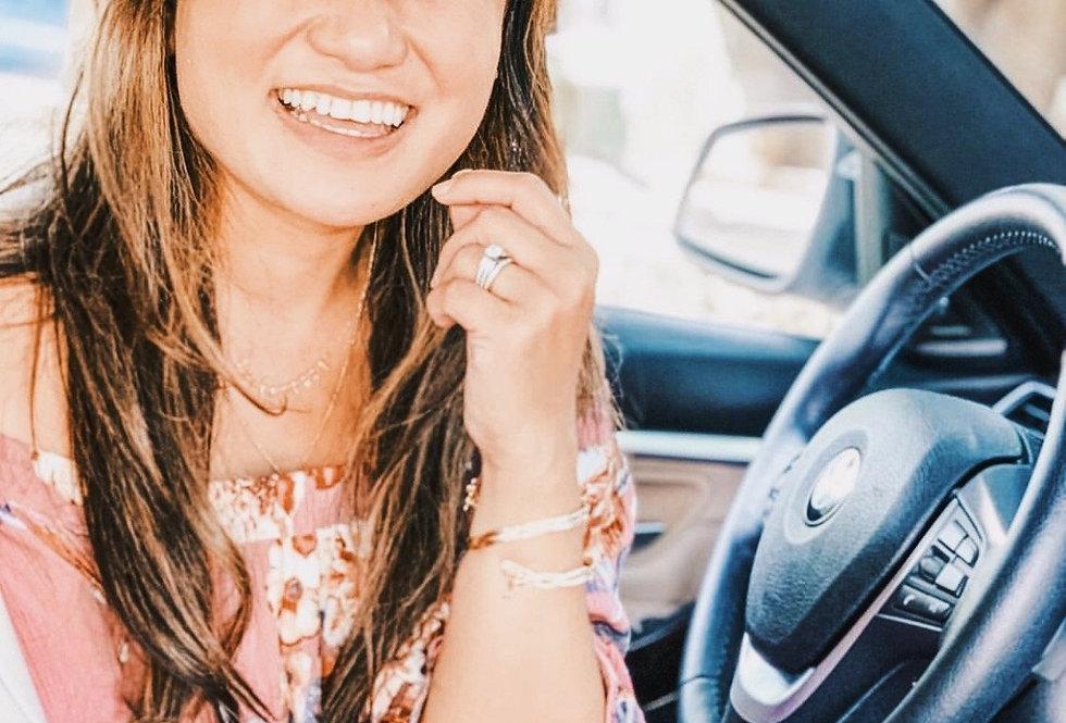 Megan Braided Choker/Bracelet (Multiple Colors)