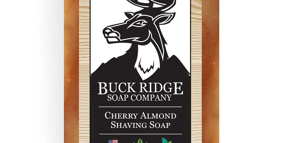 Cherry Almond & Aloe Shampoo, Shave & Body Bar