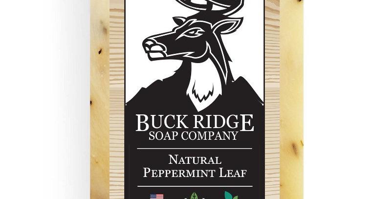 Natural Peppermint Leaf Handmade Soap