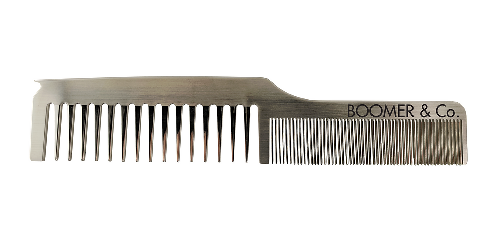 Dual Combo Stainless Comb