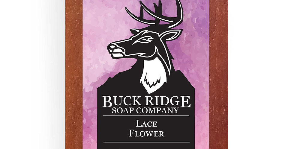 Lace Flower Handmade Soap