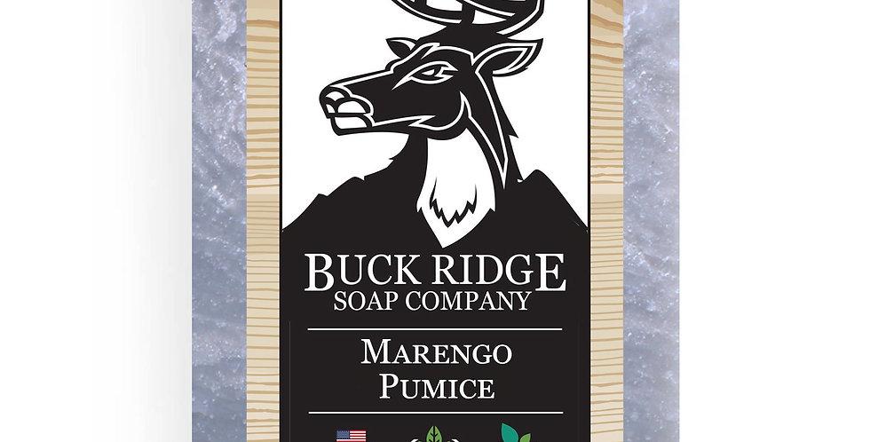 Men's Marengo Pumice Handmade Soap Bar