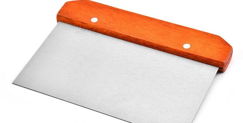 Durable Stainless Steel Bench Scraper Baking Accessories