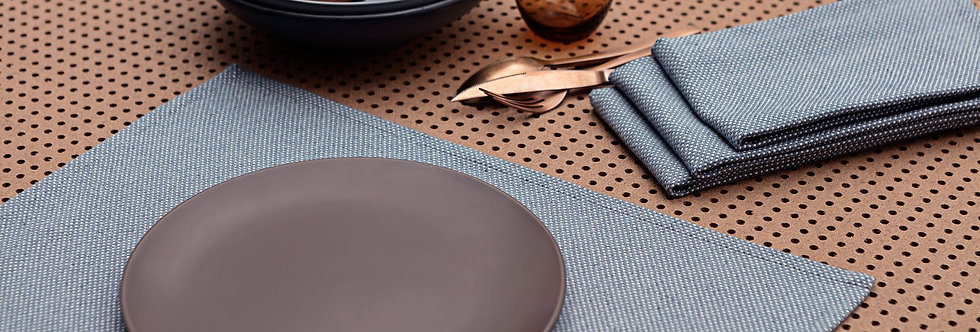 Placemats  Tranquil blue