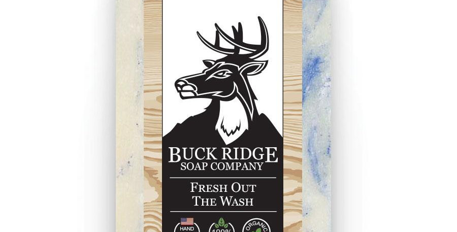 Men's Organic Fresh Out the Wash Handmade Soap