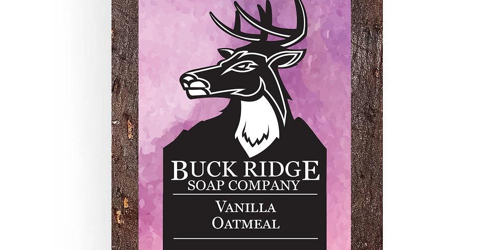 Vanilla Oatmeal Handmade Soap