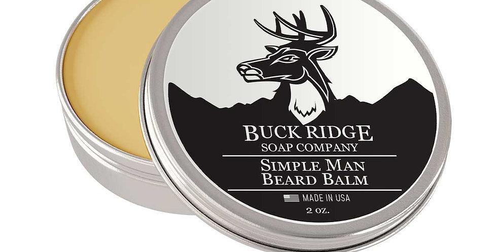 Simple Man Beard Balm
