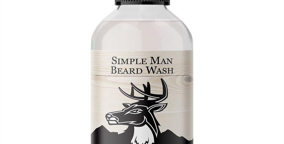 Men's Organic Simple Man Beard Wash