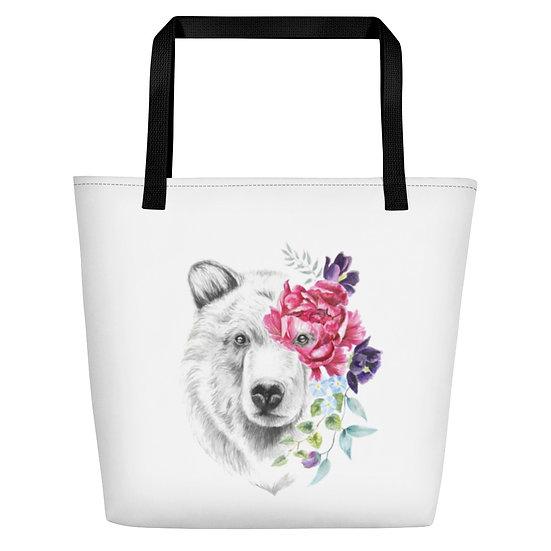 Momma Bear Beach Bag