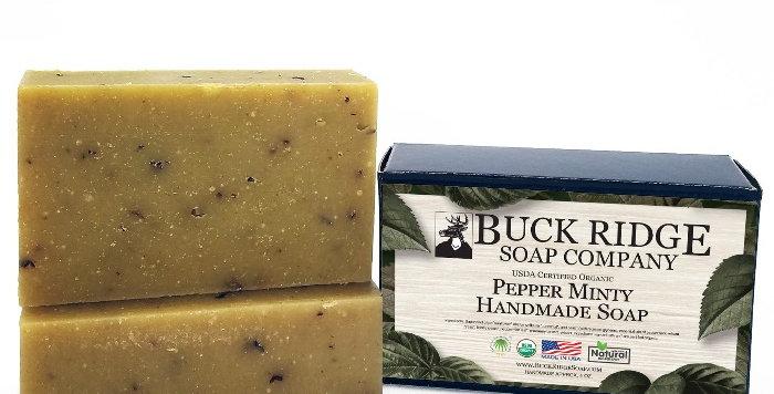Pepper Minty Handmade Soap