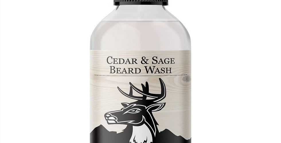 Cedar and Sage Beard Wash