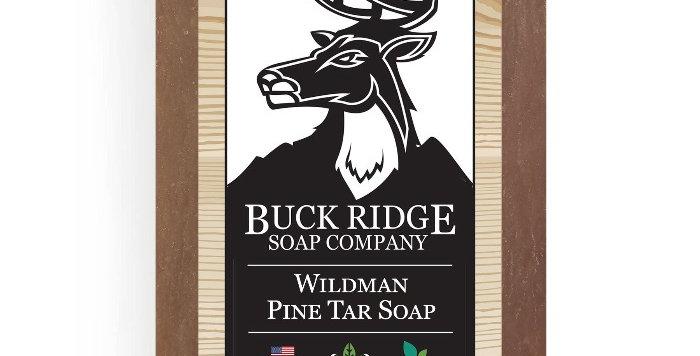 Men's Wildman Pine Tar Handmade Soap