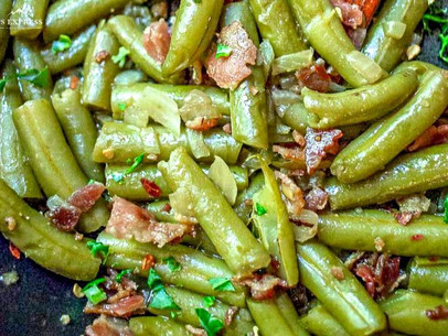 Scrumptious southern green beans