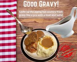 Gravy boat and ladle (1)