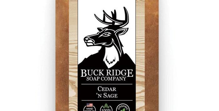 Cedar 'N Sage Men's Handmade Soap