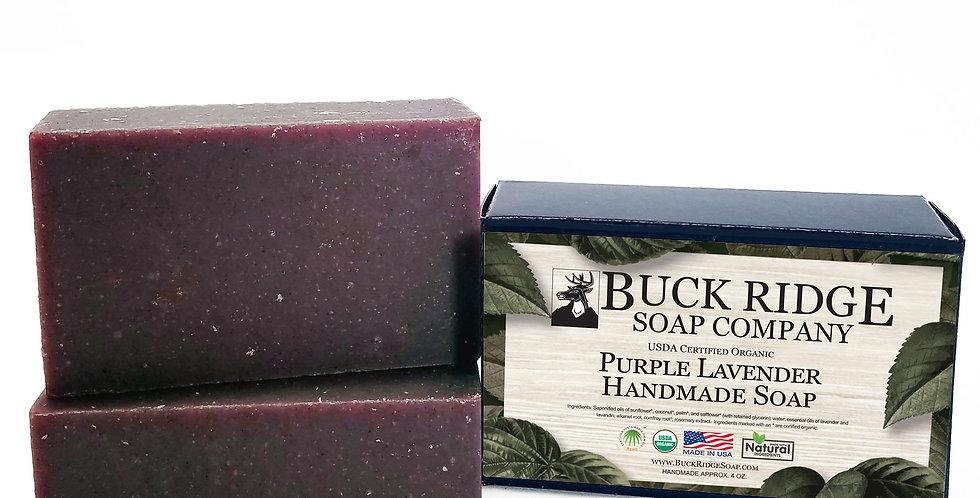 Purple Lavender Handmade Soap